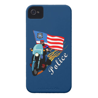 Police Bikers Case-Mate iPhone 4 Case