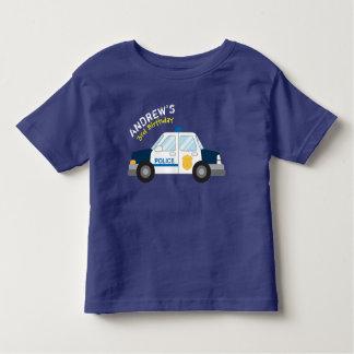 Police Birthday Tshirt