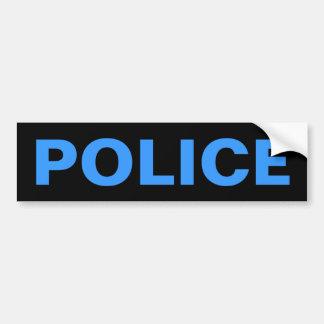 POLICE - Blue Logo Emblem Bumper Sticker