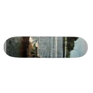 Police Boat Norfolk VA Skateboard