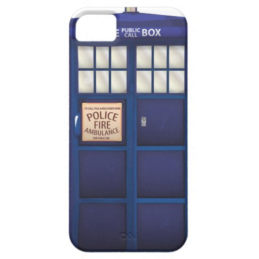 Police Box Case For The iPhone 5