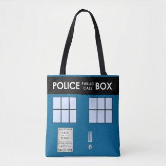 Police Box Customized Tote Tote Bag