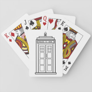 Police Box Playing Cards