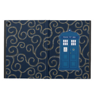 """Police Box with Swirls"" Case For iPad Air"