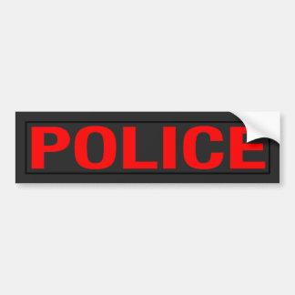 """""""POLICE"""" BUMPER STICKER"""