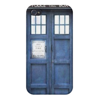 Police Call Box iPhone 4 Case