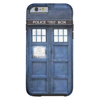 Police Call Box iPhone 6 case Tough iPhone 6 Case