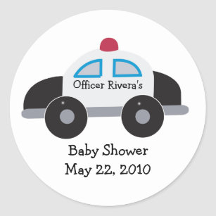 Police Officer Baby Shower Gifts Gift Ideas Zazzle Uk