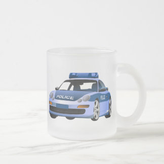 police car city state serve protect patrol hyway coffee mug