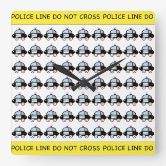 Police Car Clock
