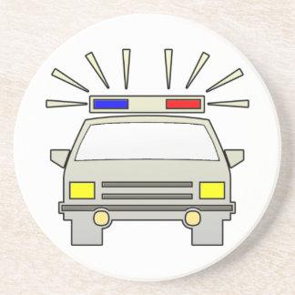 Police Car Coaster