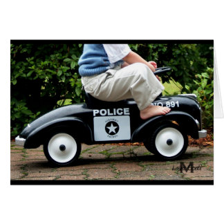 Police Car Greeting Card