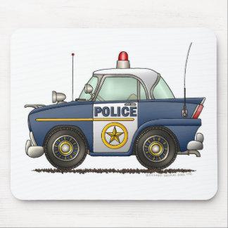Police Car Law Enforcement Mouse Mat