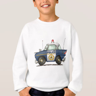 Police Car Law Enforcement Sweatshirt