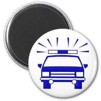Police Car Magnet