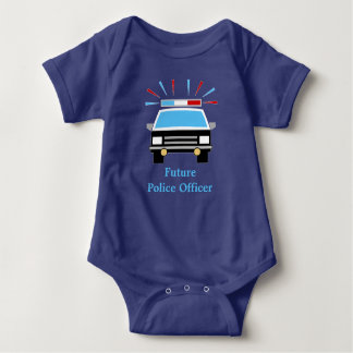 Police Car | Personalized | Future Police Officer T Shirts