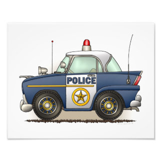 Police Car Police Crusier Cop Car Art Photo