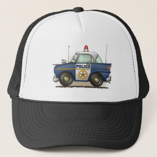 Police Car Police Crusier Cop Car Hat