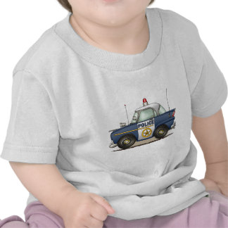Police Car Police Crusier Cop Car Infant T-Shirt