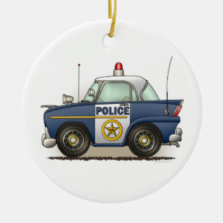 Police Car Police Crusier Cop Car Ornament