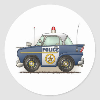 Police Car Police Crusier Cop Car Sticker