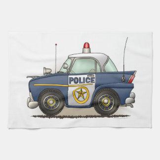 Police Car Police Crusier Cop Car Tea Towel