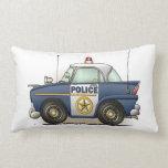 Police Car Police Crusier Cop Car Throw Pillows