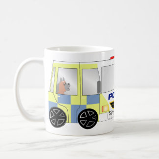 Police Car UK Coffee Mug