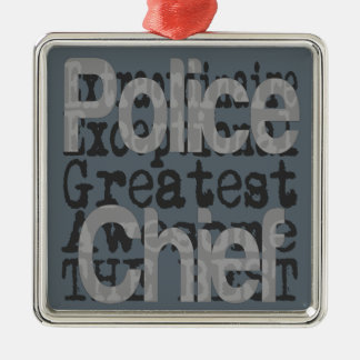 Police Chief Extraordinaire Christmas Ornament