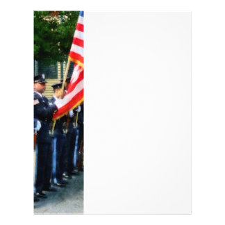 Police Color Guard Flyers