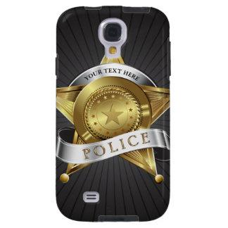 Police Cop Security Badge Galaxy S4 Case