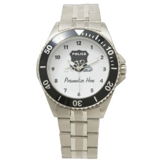 Police Cops Logo Watch
