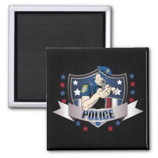 Police Crest Magnet