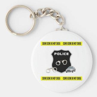 Police Crime Scene Keychains
