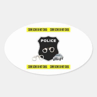 Police Crime Scene Stickers