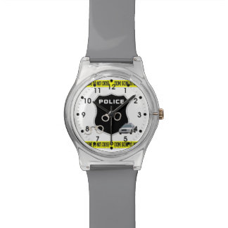 Police Crime Scene Wristwatch