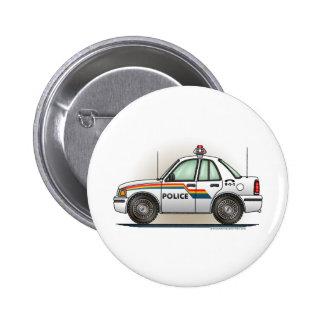 Police Cruiser Car Cop Car Button Pin