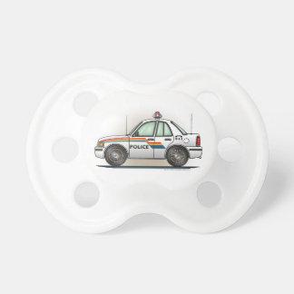 Police Cruiser Car Cop Car Baby Pacifier