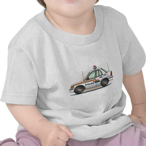 Police Cruiser Car Cop Car Kids T-Shirt