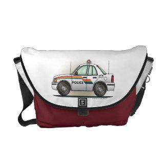 Police Cruiser Car Cop Car Courier Bags