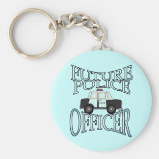 Police Cruiser Future Police Officer Key Ring