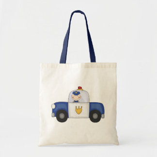 Police Cruiser T-shirts and Gifts Budget Tote Bag