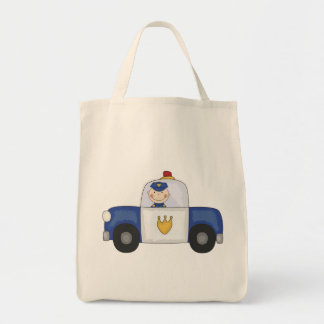 Police Cruiser T-shirts and Gifts Tote Bags
