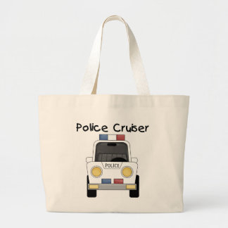 Police Cruiser Tshirts and Gifts Tote Bags
