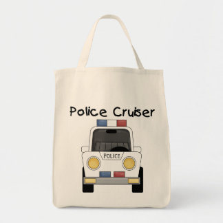Police Cruiser Tshirts and Gifts Tote Bag
