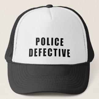Police Defective - Oops Trucker Hat