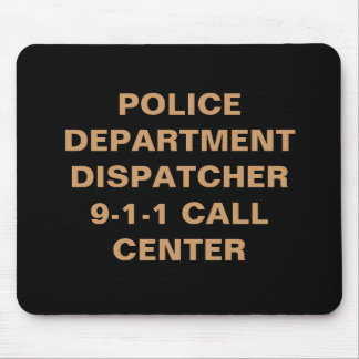 POLICE DEPARTMENT DISPATCHER MOUSE PADS