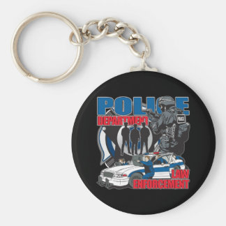 Police Department Key Ring