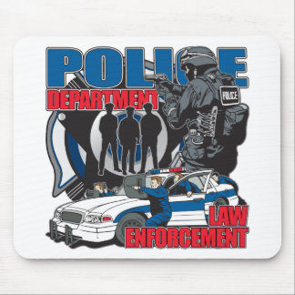 Police Department Mouse Mat