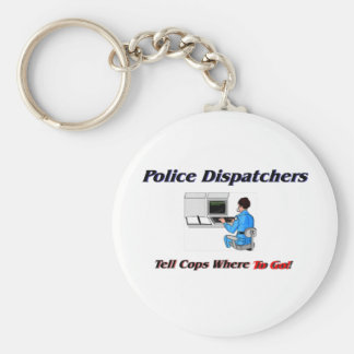 Police Dispatchers Key Ring